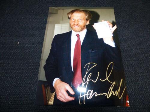 RAYMUND HARMSTORF (+ 1998) signed Autogramm auf 13x18 cm Foto DER SEEWOLF