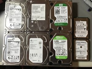 Lots of hard drives for sell.