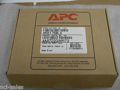 American Power Conversion   Apc 750Mm Wide Trough Brackets Ar8176blk