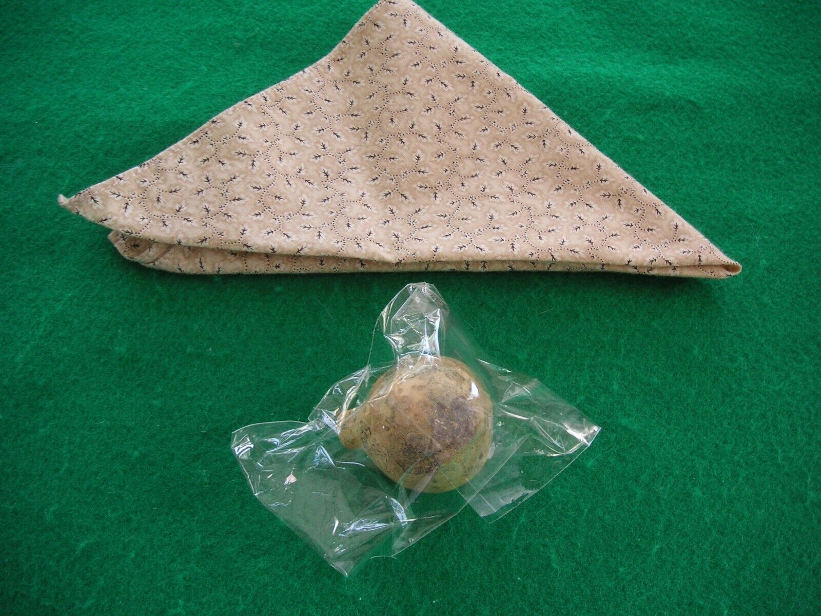 Pleasant Company 1995 Addy s Meet Kerchief And Sealed Gourd.  - $9.00