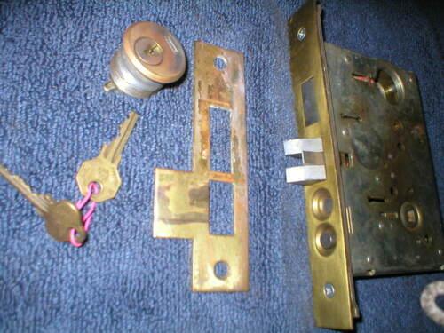 Front Door Mortise with striker plate