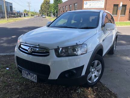 2013 Holden Captiva SUV 7 SEATER / TURBO DIESEL WITH REGO + RWC Campbellfield Hume Area Preview