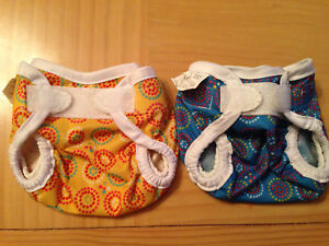 Bummis - Waterproof Covers - 2 Newborn, 2 Small