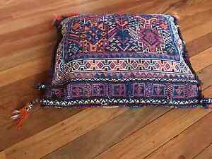 Large cushion - colourful handmade traditional - great condition Armidale Armidale City Preview