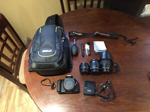 Canon T2i with accessories