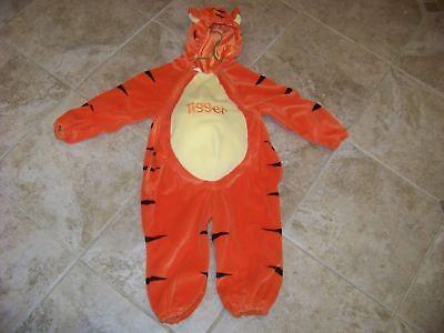 Disney Store TIGGER Costume 24M Winnie The Pooh Dress Up Tiger Tigger Orange (Disney Store Tigger Costume)