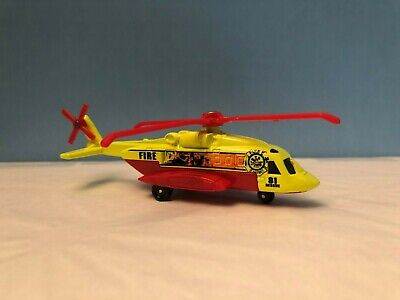 Matchbox 2009 Fire and Rescue Helicopter