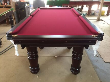 "Pub size pool table 7x3'6"" slate"