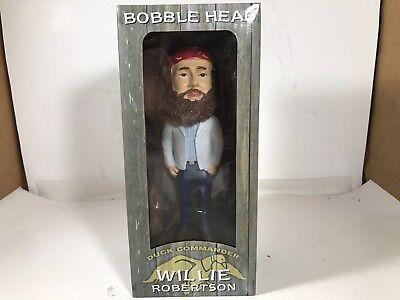 DUCK DYNASTY Duck Commander Bobble Head - WILLIE ROBERTSON - NIB