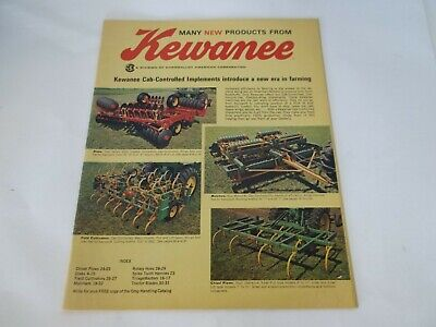 Kewanee Disks Mulchers Field Cultivators Chisel Plows More Sales Brochure