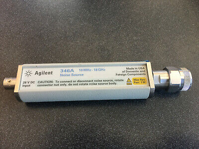 Agilent 346a 10mhz - 18ghz Noise Source Us Manufacture