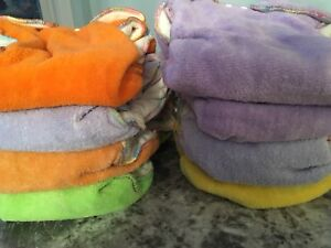 8 RearZ cloth diapers size med & large