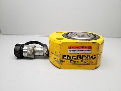 Enerpac Rsm-500 Hydraulic Cylinder 50-ton Cap .63 Stroke Low Height 10000 Psi
