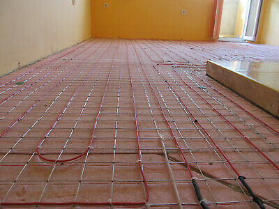 Under Floor Cables Heating System 180-220  sq.ft. (18-21 sq m) 220V ,warm tiles