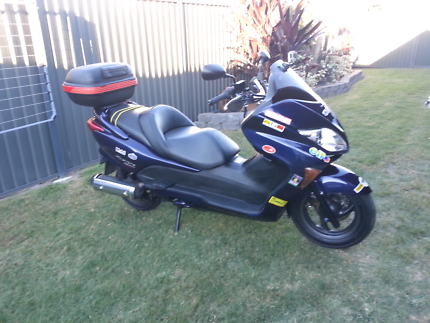 250cc Honda Forza Scooter.