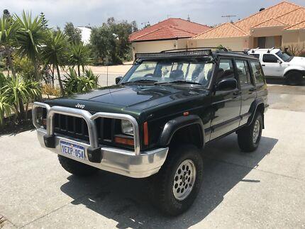 Jeep Cherokee XJ 1998 2.5L Turbo Diesel