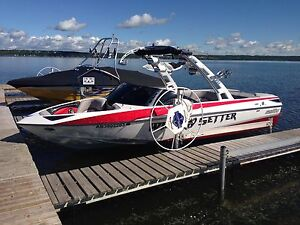 2013 Malibu Wakesetter 23LSV, with Surf Gate, 140 Hrs
