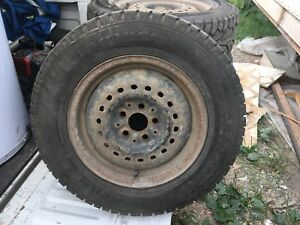 "Dodge neon 9five hole wheel 14"" winters studded 01 neon"