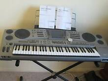 KEYBOARD  CASIO MZ 2000 with STAND and Cover. Cameron Park Lake Macquarie Area Preview