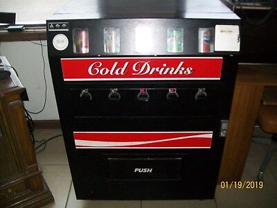 Soda Vending Machine 5 Selection Coin