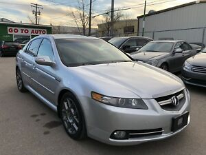 2007 Acura TL Type-S Sedan - Navigation, camera, leather