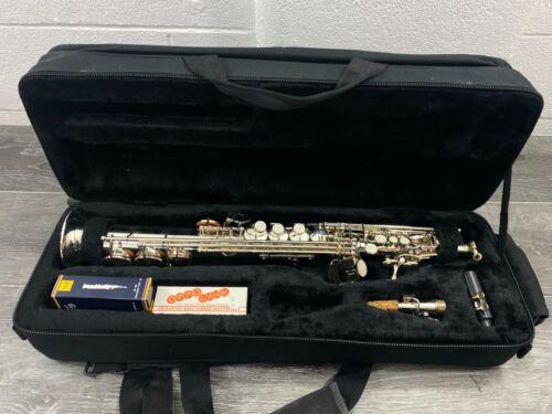 Custom Saxophone.com Silver Soprano