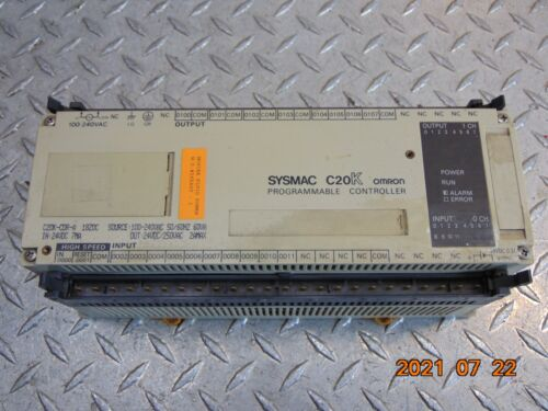 OMRON SYSMAC C20K-CDR-A PROGRAMMABLE CONTROLLER *FREE SHIPPING*