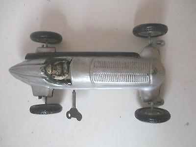 Rarität Tippco Mercedes Nr.6  Benz Rennwagen 1930 Federuhrwerk Schlüsselaufzug