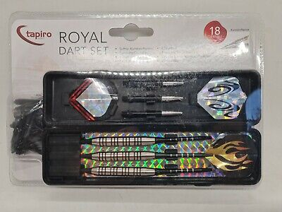 TAPIRO Royal Dartpfeile Softdarts für elektronisches 18g Dart Set NEU OVP