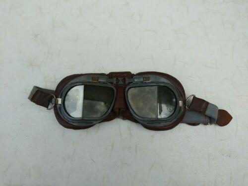 Original WW2 RAF Mark 8 Flight Goggles Tinted Lenses - w/ Box