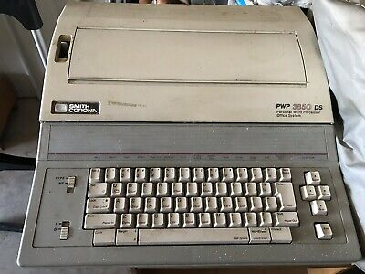 Vintage Smith Corona Pwp 3850 Dc Personal Word Processor Office System
