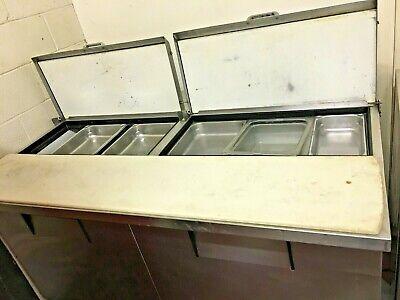True Tssu Prep Table W Refrigerated Base