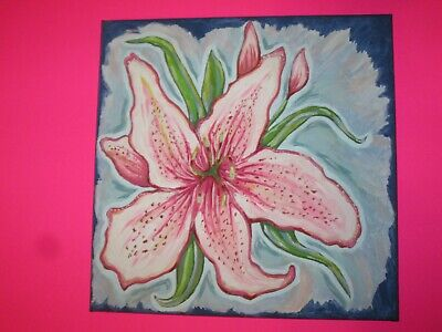 'Lily'  Floral Still Life Art Print, 12