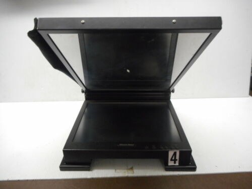 "Mirror Image LC-160 Teleprompter ViewPort 15"" Monitor Glass & Hood Only"