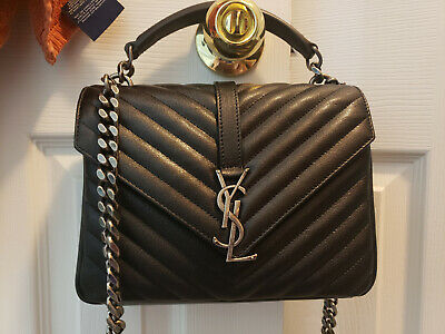 AUTHENTIC YSL SAINT LAURENT MEDIUM COLLEGE BAG