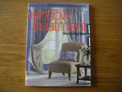 Better Homes and Garden Window Treatment Decorating Ideas Sewing Aid Curtains