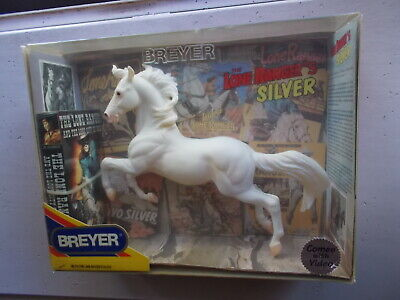 Breyer Lone Ranger's Silver Hollywood Heroes Series White w Video 2001-2006 NIB