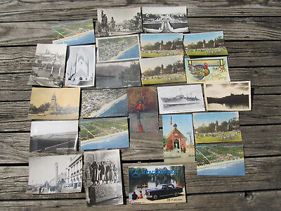 Used, Postcards Vintage Black and White, color, Lot of 24 Rare Mercedes Benz, Military for sale  Royal Oak