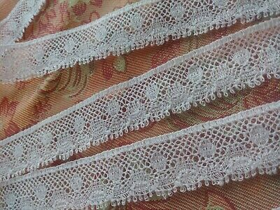 1 1//2 inch wide beige//cream lace trim select length