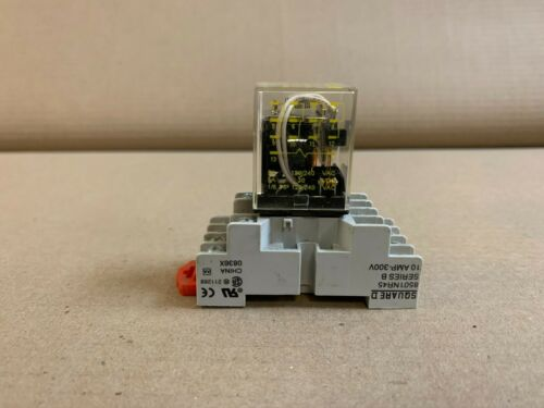 Square D 850 RS14V20 Series B Relay 10 AMP 300V 60Hz