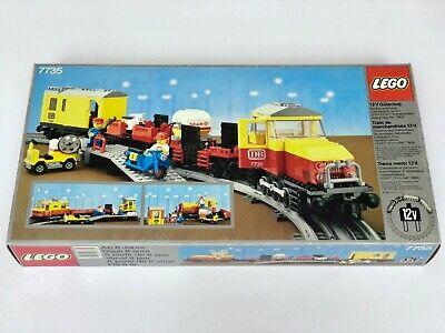 LEGO Railway 7735 Freight Train Set NEW SEALED Vintage RARE Legoland Town