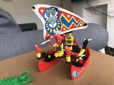 vintage Lego Islanders 6256 Pirates Islander Catamaran