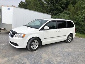 2013 grand caravan;3.6;stow and go seating;$8995.00