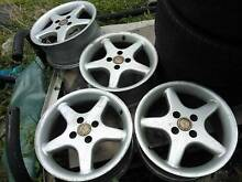 15x6.5 BSA alloy wheels 4x100 to suit mazda/diahatsu etc Thagoona Ipswich City Preview
