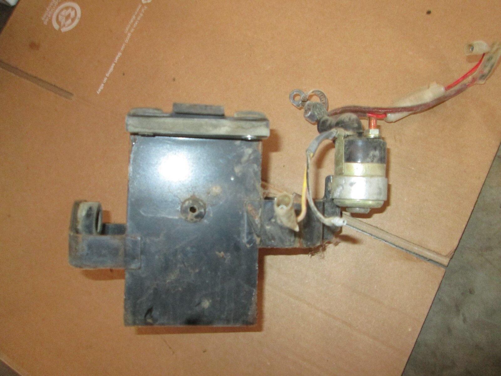 1972 Honda Scrambler CL175 CL 175 battery box holder