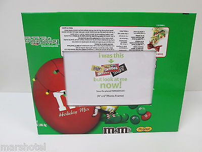 M Ms Candy Recycled Wrapper Picture Photo Frame Terracycle Reuse Repurpose