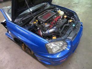 JDM Subaru Impreza WRX RHD STi Front Clip Version 8 Blobeye Sti Engine & 6Spd