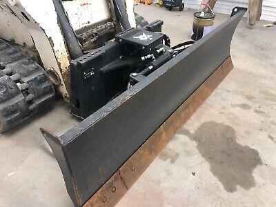 2015 Bobcat 90 Dozer Blade 6 Way Blade For Skid Steer Loader Low Cost Shipping