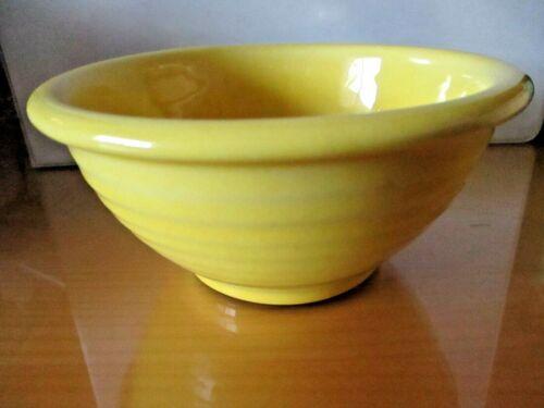 "Vintage SHAWNEE 5"" YELLOW RIBBED Nesting Mixing Bowl ~ U.S.A."