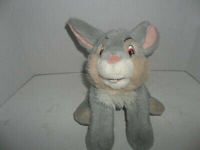 "Disney Store Stuffed Animal THUMPER Bunny Rabbit 13"" Soft Bambi Plush Bean Bag"